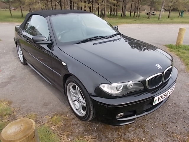 Used BMW 3 Series convertible for sale Swansea