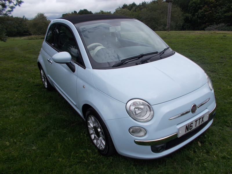 Used Fiat 500 Convertible Swansea